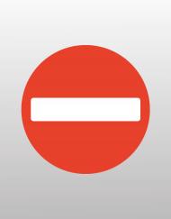 Σήμανση - Απαγορεύεται η είσοδος